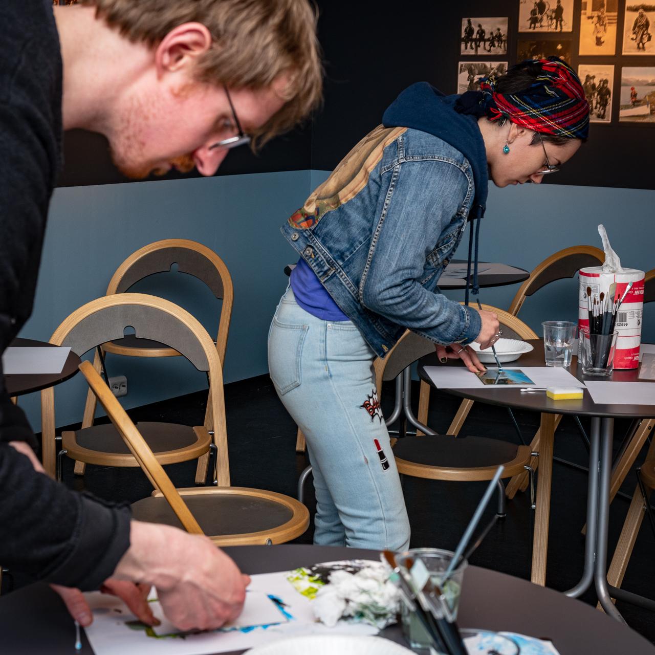 """Utstillingen """"Med Blikk for det samiske"""" på Perspektivet Museum"""